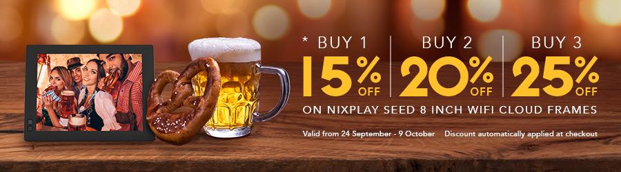 nixplay oktoberfest promo image